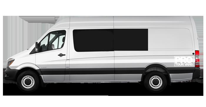 Standard Mercedes Benz Splitter Van